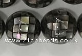 CSB4044 15.5 inches 16mm ball abalone shell beads wholesale