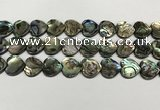 CSB4114 15.5 inches 14mm heart abalone shell beads wholesale