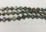 CSB4118 15.5 inches 8*8mm diamond abalone shell beads wholesale