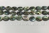 CSB4128 15.5 inches 12*16mm oval abalone shell beads wholesale