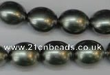 CSB882 15.5 inches 13*15mm nuggets shell pearl beads wholesale