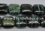 CSG15 15.5 inches 16*16mm square long spar gemstone beads wholesale