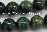 CSG30 15.5 inches 16mm round long spar gemstone beads wholesale