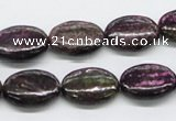 CSG56 15.5 inches 13*18mm oval long spar gemstone beads wholesale