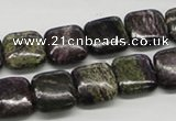 CSG58 15.5 inches 10*10mm square long spar gemstone beads wholesale