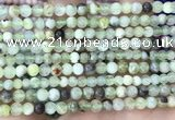 CSJ300 15.5 inches 4mm round serpentine new jade beads wholesale