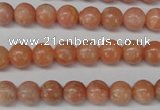 CSM03 15.5 inches 8mm round salmon stone beads wholesale