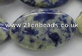 CSO225 15.5 inches 25*40mm marquise sodalite gemstone beads