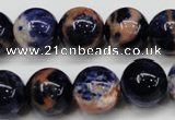 CSO265 15.5 inche 14mm round red sodalite gemstone beads wholesale