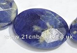 CSO28 15.5 inches faceted oval 18*25mm A grade sodalite beads