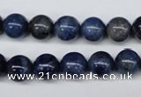 CSO403 15.5 inches 10mm round dyed sodalite gemstone beads