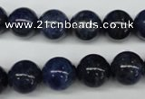 CSO404 15.5 inches 12mm round dyed sodalite gemstone beads