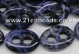 CSO49 15.5 inches 18*25mm oval sodalite gemstone beads wholesale