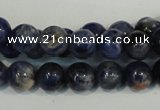 CSO61 15.5 inches 6mm round sodalite gemstone beads wholesale