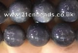 CSS317 15.5 inches 10mm round black sunstone gemstone beads