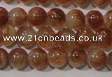 CSS552 15.5 inches 6mm round natural golden sunstone beads