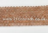 CSS751 15.5 inches 6mm round golden sunstone beads wholesale