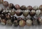 CST03 15.5 inches 8mm round staurolite gemstone beads wholesale