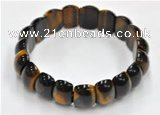 CTB18 8 inches 20*30mm  tiger eye stretch bracelet wholesale