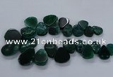 CTD2553 Top drilled 18*25mm - 30*40mm freeform agate gemstone beads