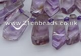 CTD3620 Top drilled 8*15mm - 16*30mm sticks natural ametrine beads