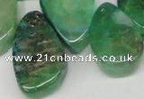 CTD688 Top drilled 18*25mm - 28*40mm freeform agate gemstone beads