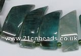 CTD735 Top drilled 15*20mm - 15*40mm wand agate gemstone beads