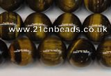 CTE1210 15.5 inches 6mm round AB grade yellow tiger eye beads