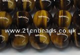 CTE1242 15.5 inches 6mm round AA grade yellow tiger eye beads