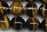 CTE1244 15.5 inches 10mm round AA grade yellow tiger eye beads