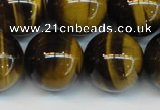 CTE1253 15.5 inches 12mm round AAA grade yellow tiger eye beads