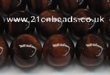 CTE1278 15.5 inches 10mm round A grade red tiger eye beads