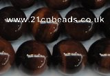 CTE1289 15.5 inches 16mm round A+ grade red tiger eye beads