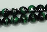 CTE144 15.5 inches 12mm round dyed tiger eye gemstone beads