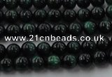 CTE1490 15.5 inches 4mm round green tiger eye beads wholesale