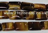 CTE191 15.5 inches 25*35mm rectangle yellow tiger eye gemstone beads