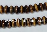 CTE195 15.5 inches 6*10mm rondelle yellow tiger eye gemstone beads