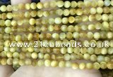 CTE2007 15.5 inches 4mm round golden tiger eye beads wholesale