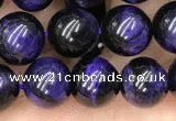 CTE2023 15.5 inches 8mm round purple tiger eye beads wholesale
