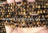CTE2146 15.5 inches 5mm round yellow tiger eye beads wholesale