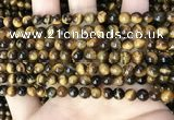 CTE2147 15.5 inches 6mm round yellow tiger eye beads wholesale