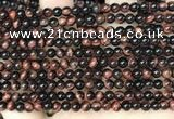 CTE2168 15.5 inches 4mm round yellow tiger eye beads wholesale