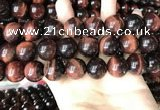 CTE2175 15.5 inches 18mm round yellow tiger eye beads wholesale