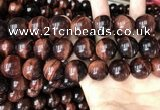 CTE2176 15.5 inches 20mm round red tiger eye beads wholesale