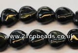 CTE650 15.5 inches 16*16mm heart blue tiger eye beads wholesale