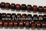 CTE898 15.5 inches 7*8mm tyre red tiger eye beads wholesale