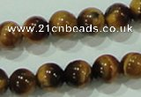 CTG02 15.5 inches 4mm round tiny tigers eye beads wholesale