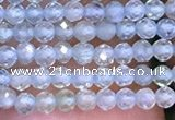 CTG1092 15.5 inches 2mm faceted round tiny quartz glass beads