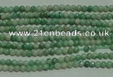CTG125 15.5 inches 2mm round tiny Qinghai jade beads wholesale