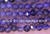 CTG1329 15.5 inches 2mm faceted round iolite beads wholesale